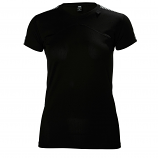 Helly Hansen Ladies Lifa T-Shirt - Black