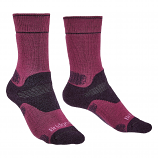 Bridgedale Trekker Ladies Midweight Boot Fit Socks - Berry 352